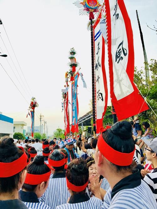 四カ字豊年祭1