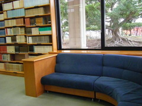 図書館ソファ